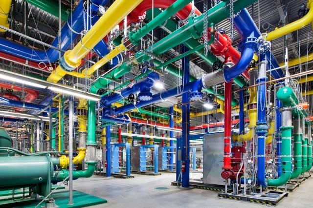 Google ukázal svoje dátové centrum