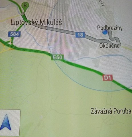 Google spustil mobilnú navigáciu v slovenčine